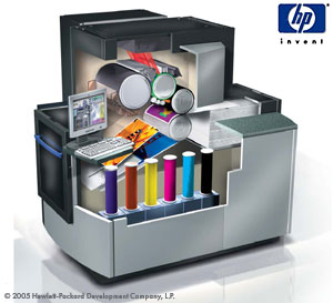 hp indigo press 1050